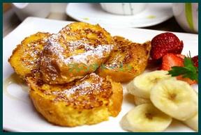 1030-11 フレンチトースト フランスパン一晩つけなくても出来るレシピ