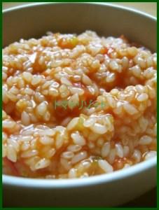 toma2 トマトリゾットレシピ 美味しい生米から作る