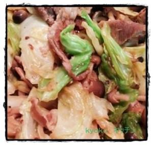 kya2-1-300x285 豚肉とキャベツの人気レシピ お弁当にも味噌味で簡単