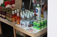 Table by Roppongi. You can enjoy Japanese drinks like Ramune and Calpis.