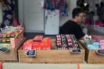 イベントに欠かせない日本のお菓子や飲み物を提供してくれたRoppongi