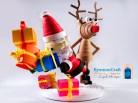 Rudolph fa lo sgambetto al povero Babbo Natale !