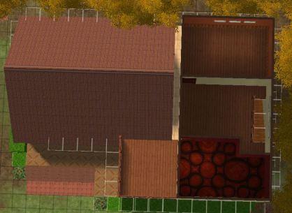 Masjidi House tampak atas lt2 denah