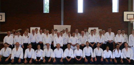 Groepsfoto Shishiya Seminar 2014 in Nederland
