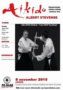 Poster Najaarsstage olv Albert Stevense