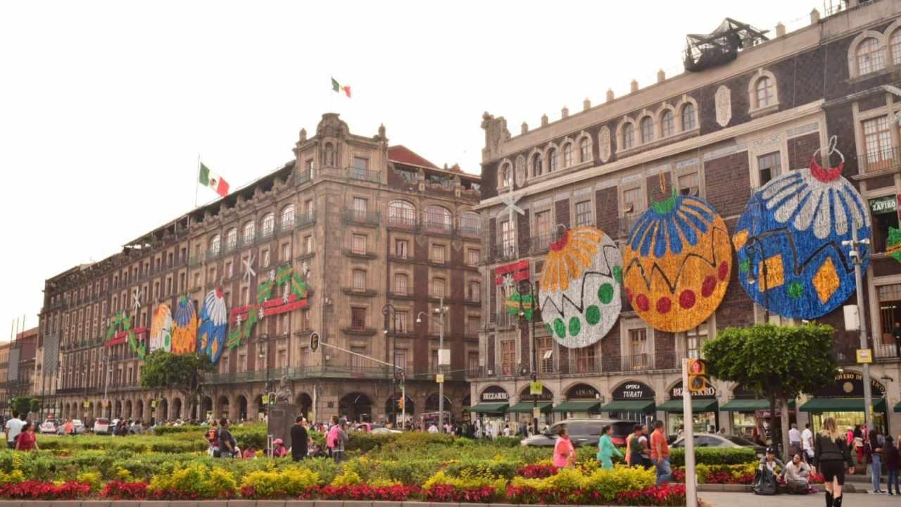 メキシコシティの街並み