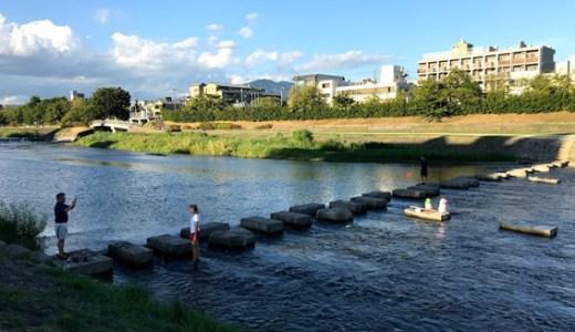 Apple(アップル)京都・オープン2日目!! 晩夏の鴨川