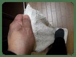 台所の床ふき