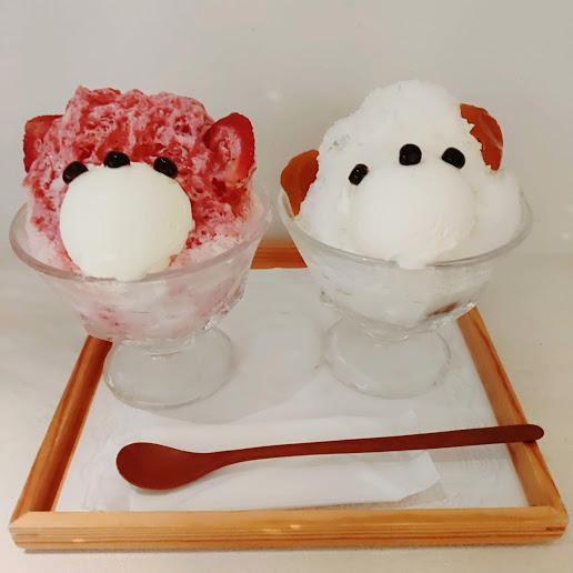 【京都河原町近くの可愛いくまさんカキ氷を満喫】JAPANESE ICE OUCA(ジャパニーズアイス櫻花)