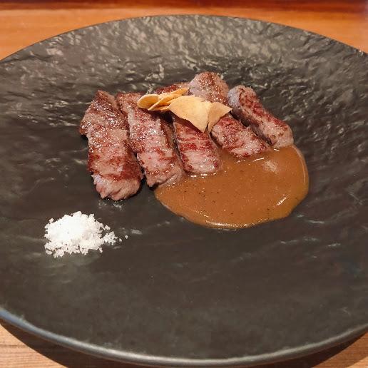 【京都祇園花見小路、白川沿いに面したお店でステーキランチ】ITOH DINING