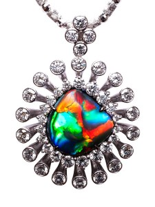 Black Opal Pendant BC6368