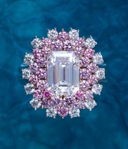 Pink Diamond Ring AT182
