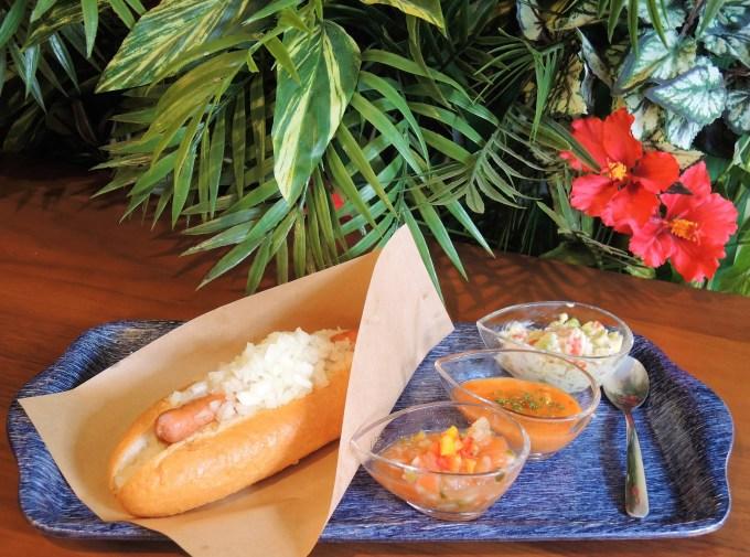 京都・ホットドッグ専門店「asumo cafe」3種のソース
