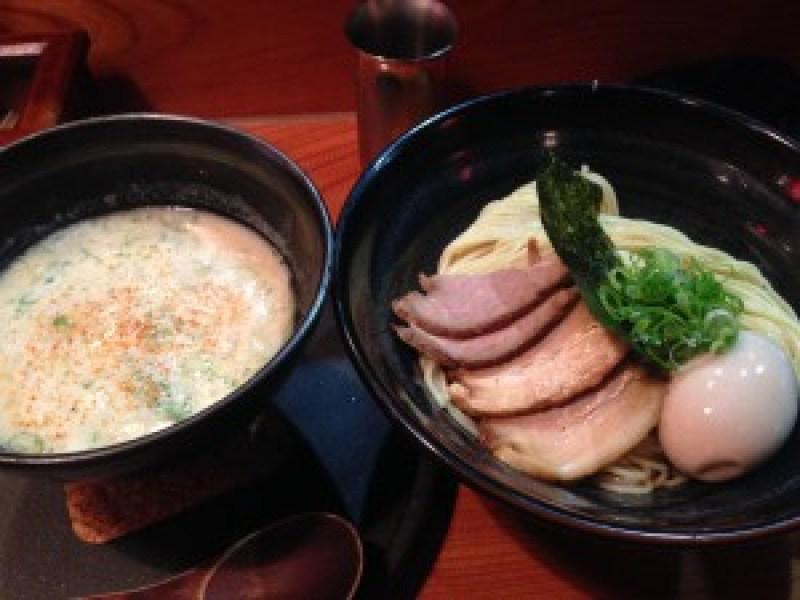 龍旗信つけ麺と塩ラーメン