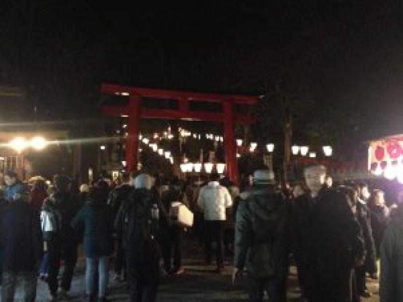 吉田神社の節分祭14