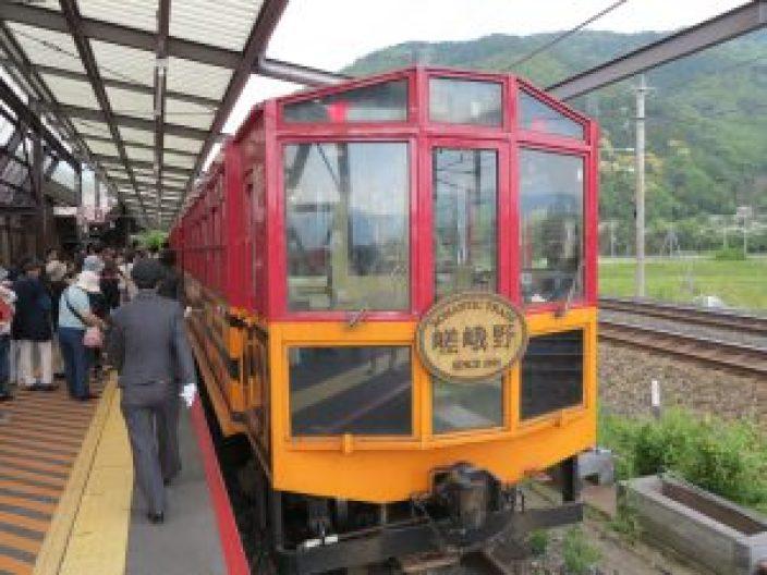 嵯峨野観光列車トロッコ列車7