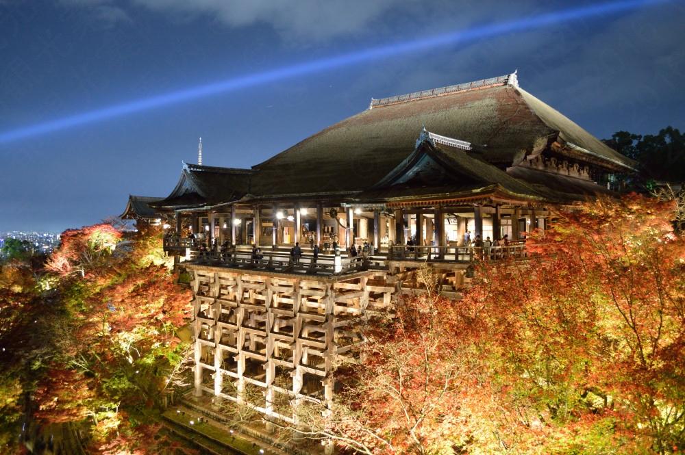 清水寺の紅葉2016