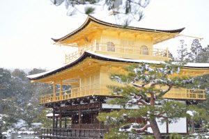 【2017】京都の雪景色 金閣寺