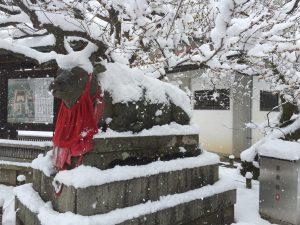 【2017】京都の雪景色 北野天満宮