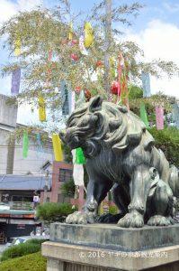 八坂神社の七夕
