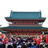 京都さくらよさこい・平安神宮
