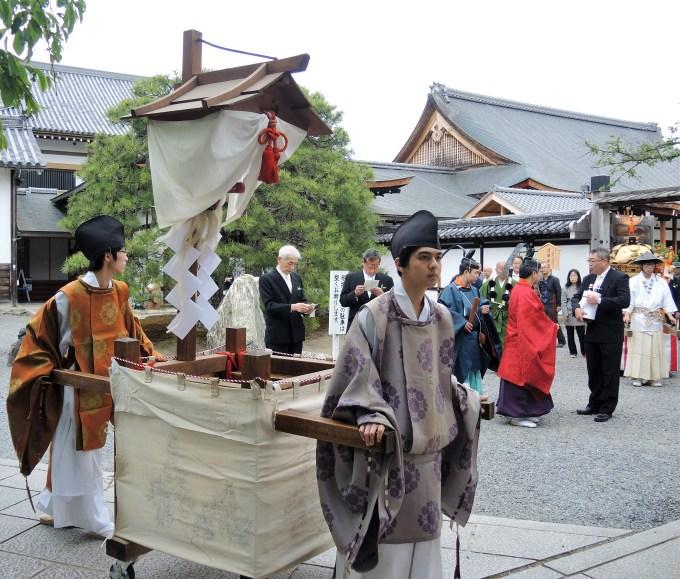 京都・熊野神社・神幸祭・聖護院