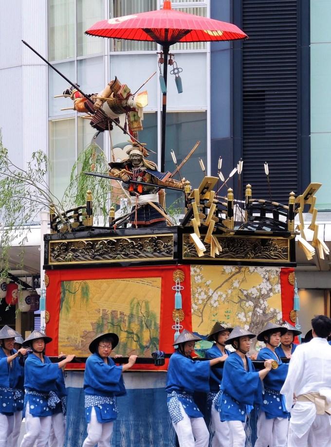 京都・祇園祭・後祭・浄妙山