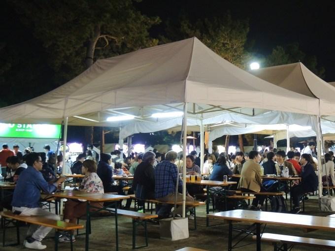 京都・餃子フェス・岡崎公園