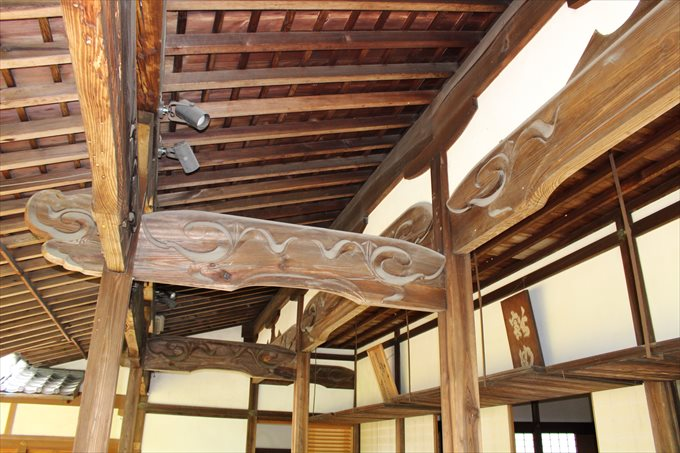 37本堂の屋根の内側