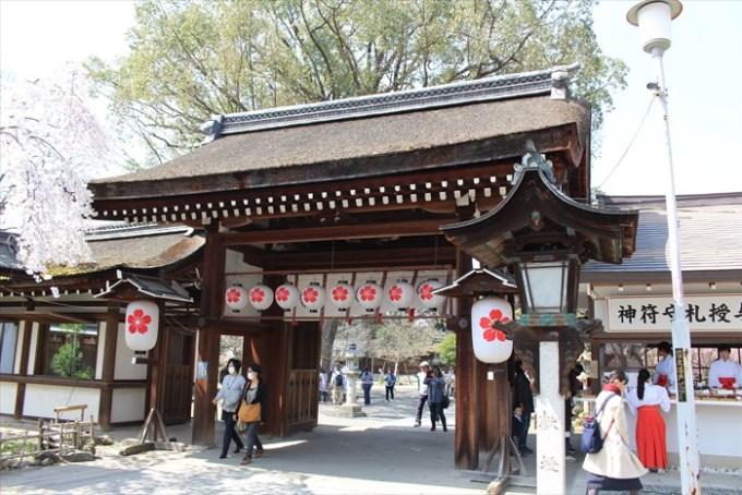 18平野神社の神門