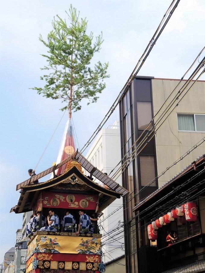 今日と・祇園祭・曳き初め・岩戸山