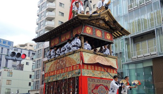 🌙 京都「祇園祭」前祭・曳き初め《月鉾》