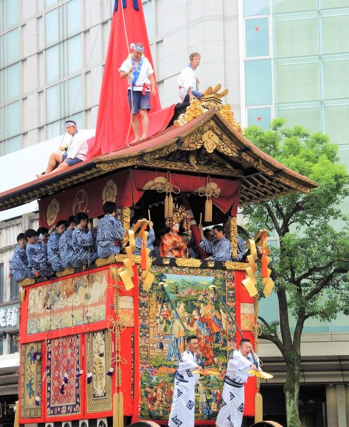 京都・祇園祭・山鉾巡行・函谷鉾