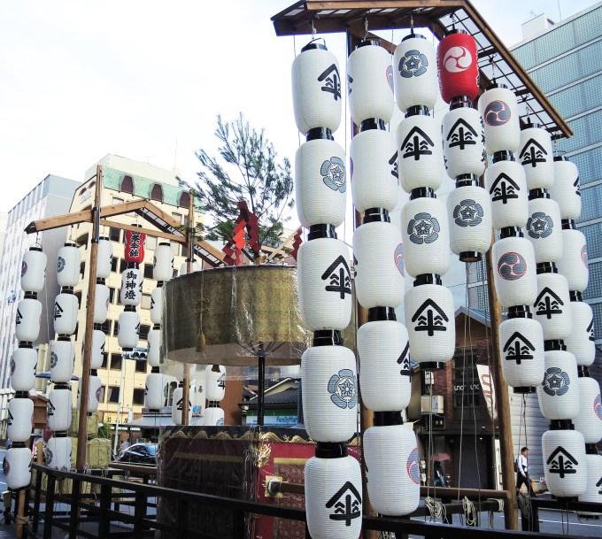 京都・祇園祭・宵山・四条傘鉾