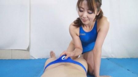 熟女ハイドロ競パンしごき7 動画3