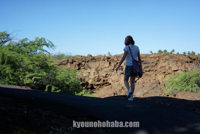 ハワイ島 オーラ 洞窟