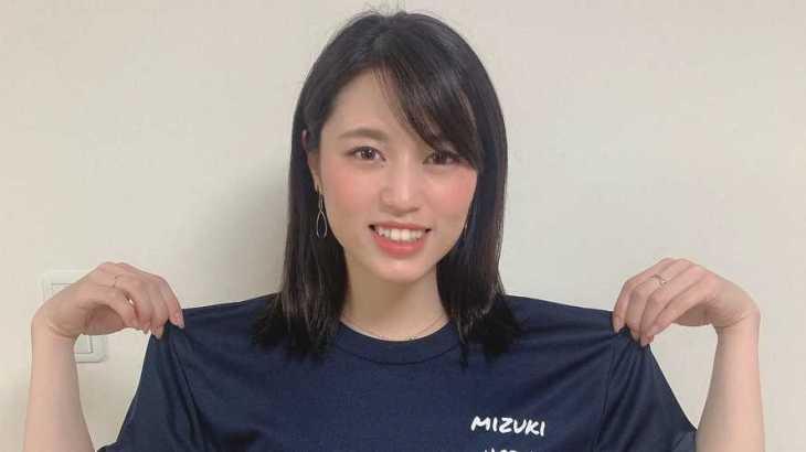 安井瑞紀選手のTOP画像です。