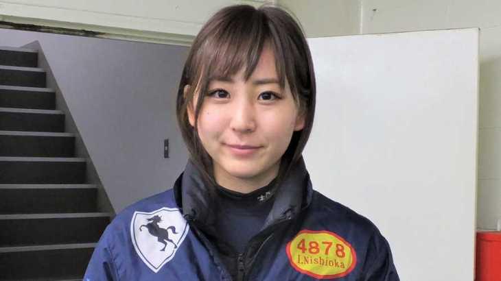 西岡育未選手のTOP画像です。