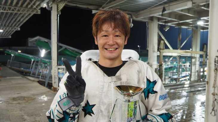 大峯豊選手のTOP画像です。