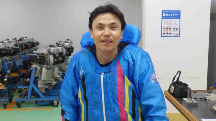 山崎哲司選手のTOP画像です。