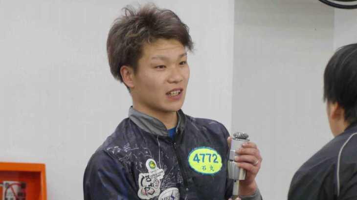 石丸海渡選手のTOP画像です。