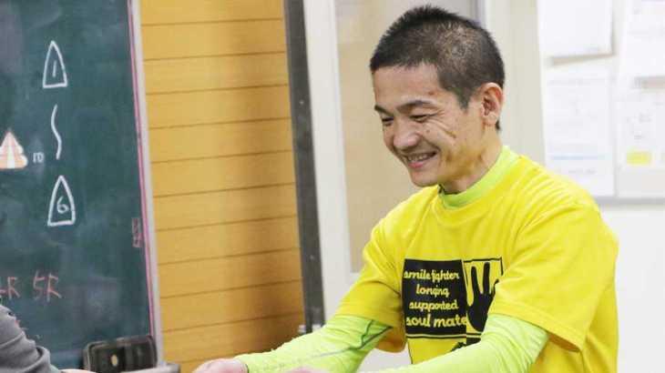 平田忠則選手のTOP画像です。
