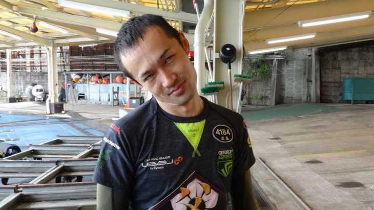 渡邊雄一郎選手のTOP画像です。