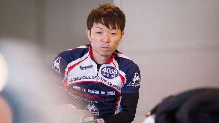 中尾誠選手のTOP画像です。