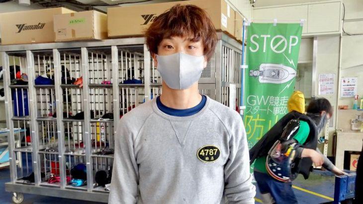 椎名豊選手のTOP画像です。