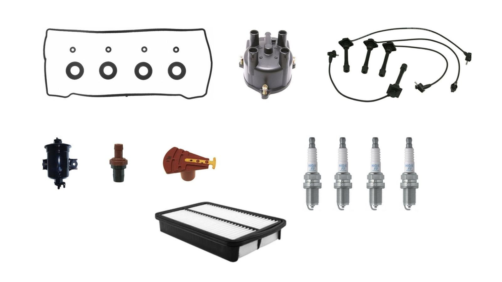 Tune Up Kit Fits Corolla 93 97 Fwd 4afe Eng Code 11 Pcs