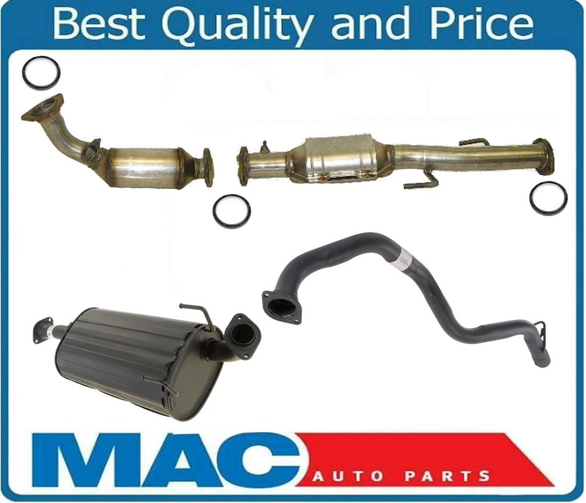 details about made in usa full exhaust system for toyota 3 4l 4 wheel drive 4runner 2001 2002
