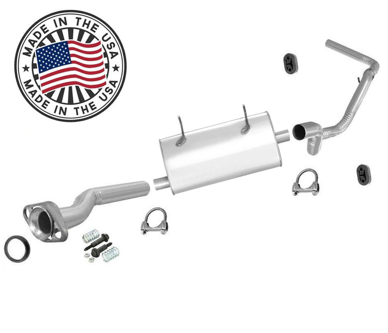 new muffler exhaust system for ford