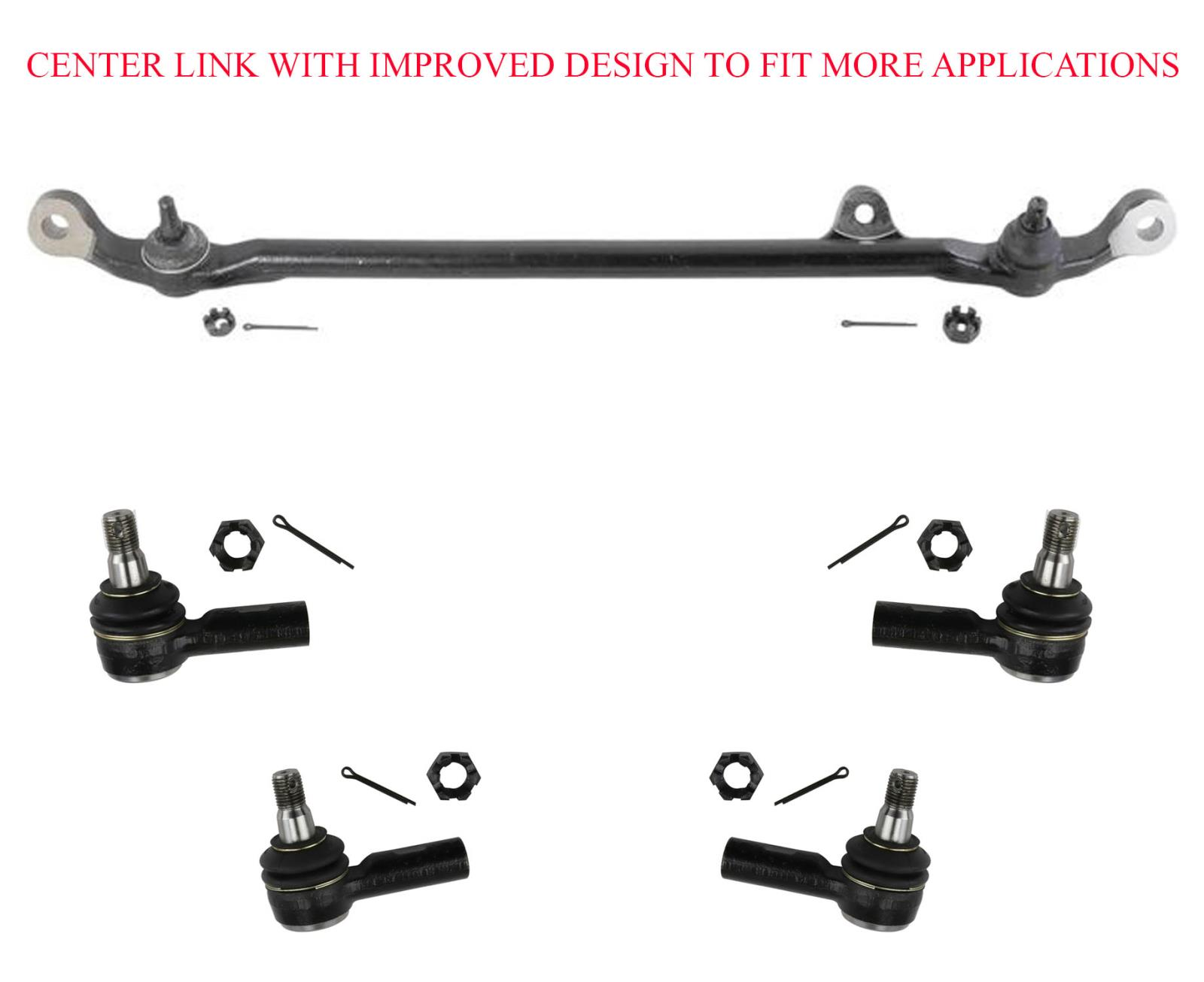 Center Link Inner Amp Outer Tie Rods Fits For 91 97 Rodeo 92