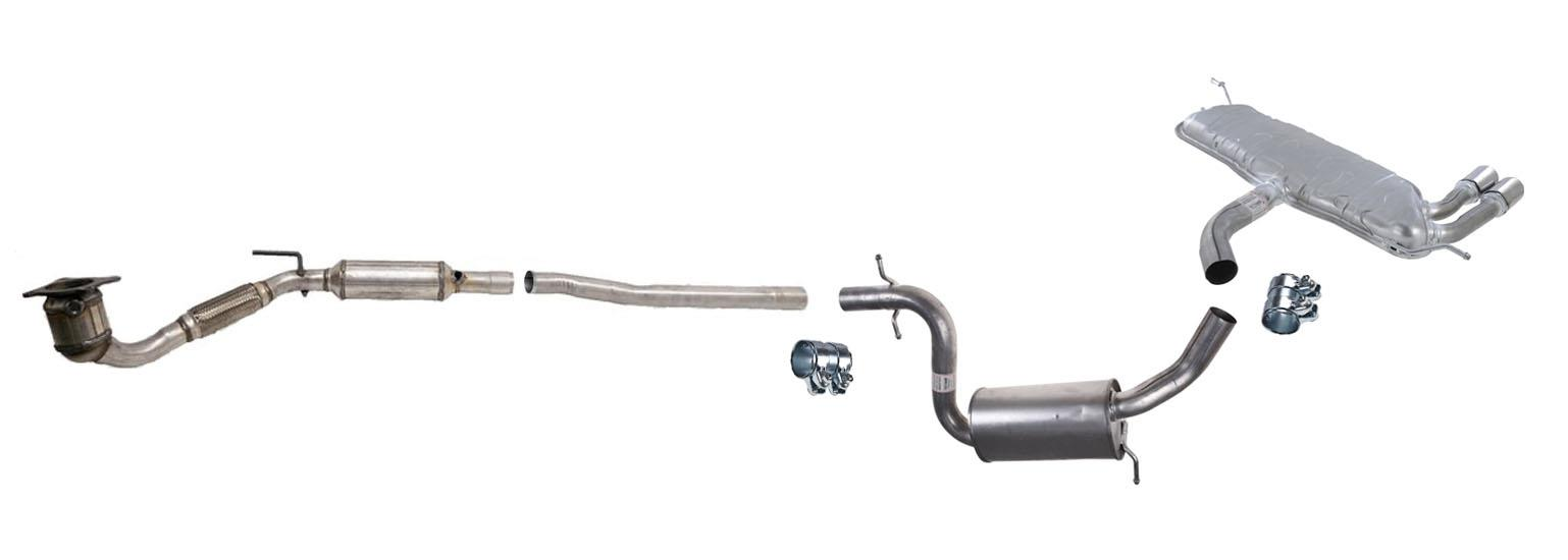 100 new exhaust system fits for 01 04